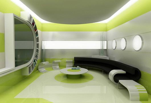办公室墙纸墙面设计效果图